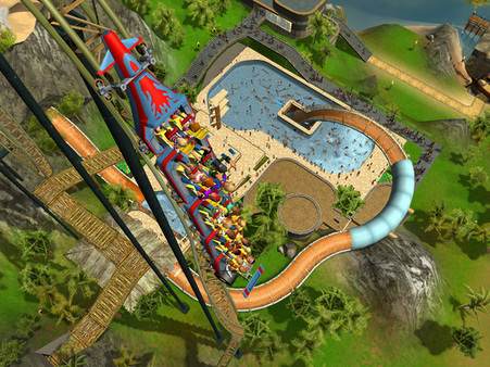 RollerCoaster Tycoon 3: Platinum (Steam ROW)