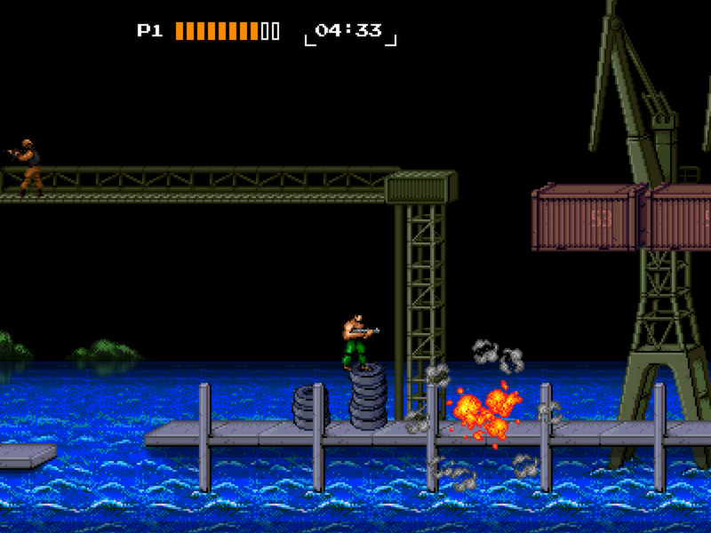 8-Bit Commando (Steam KEY ROW Region Free)