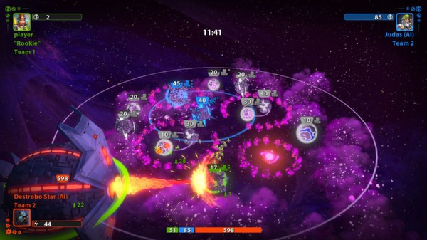 Planets Under Attack (Steam KEY ROW Region Free)