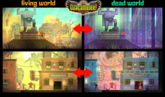 Guacamelee! Gold Edition (Steam KEY ROW Region Free)