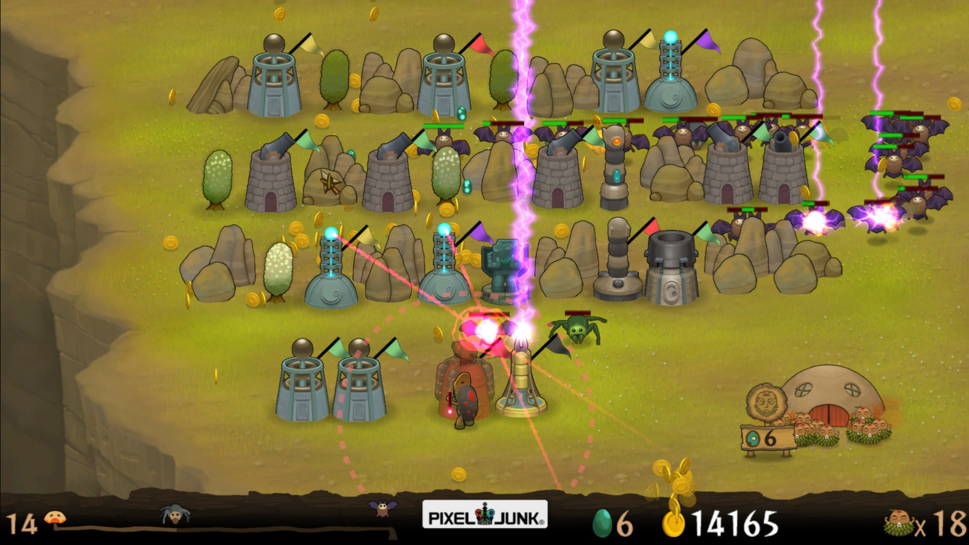 PixelJunk™ Monsters Ultimate (Steam Key / Region Free)