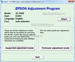 Adjustment program Epson SC-P600 сброс памперса