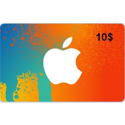 iTunes Gift Card $10 USA (Фото - Photo - SCAN card)