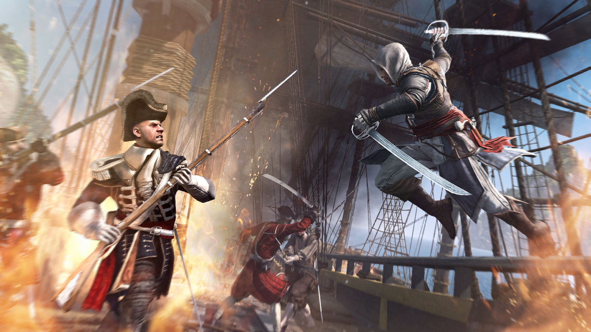 Assassins Creed IV Black Flag Standard (Steam Gift ROW)