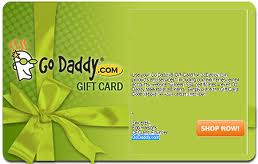 GoDaddy Gift Card 10$
