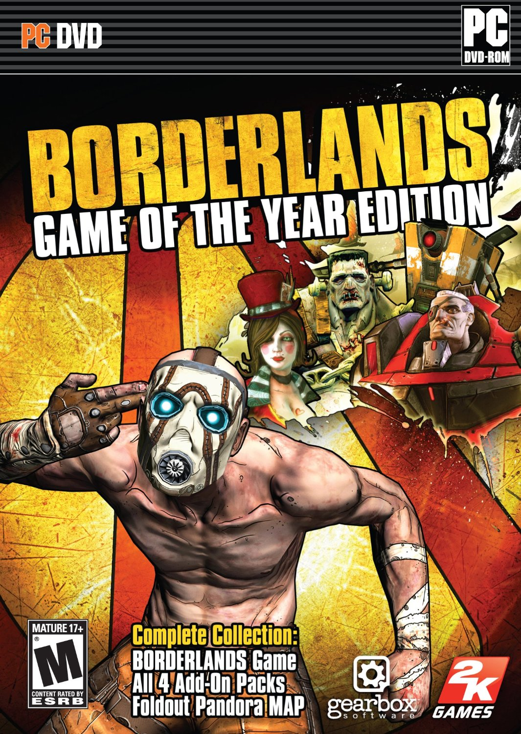 Borderlands: Game of the Year (Steam Gift/ Region Free)