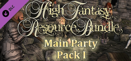 RPG Maker - High Fantasy Main Party Pack(Steam Key/ROW)
