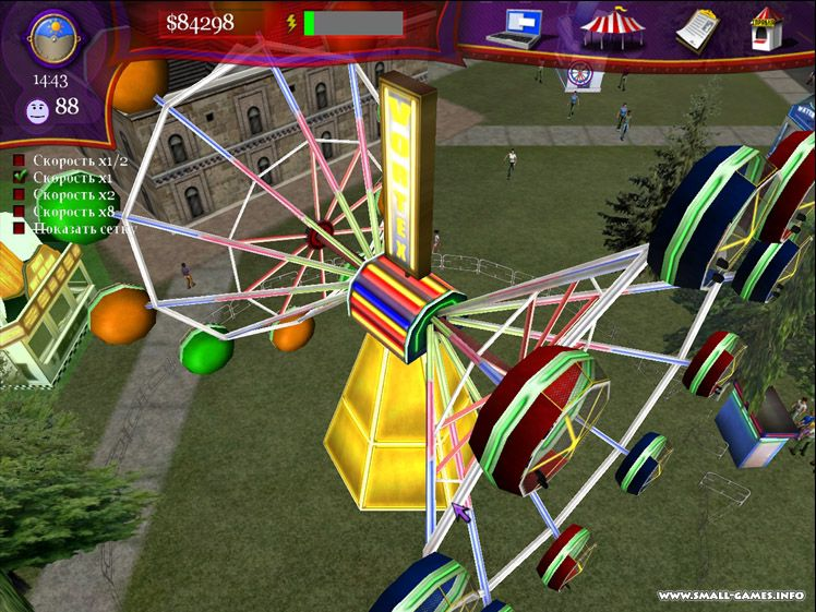 Ride! Carnival Tycoon  (Steam Key / ROW / Region Free)