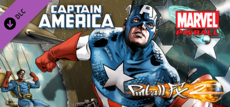 Pinball FX2 - Captain America Table  (Steam Key / ROW)