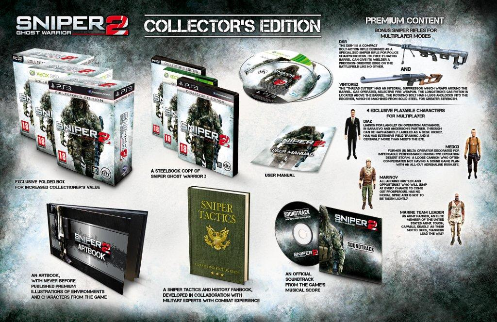 Sniper Ghost Warrior 2 Korean Collectors(Steam Аккаунт)