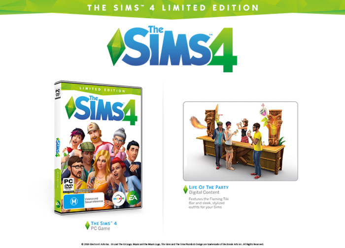 The Sims 4 Limited Edition + The Sims 3 + дополнения
