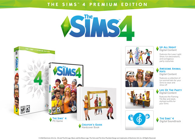 The Sims 4 Premium Edition Origin   (с Почтой + секрет)