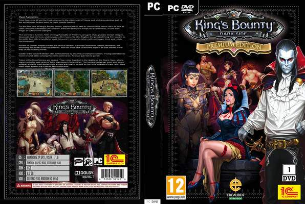 King´s Bounty: Dark Side Premium (Steam Gift) HB link