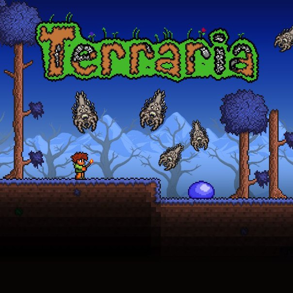 Terraria on iPhone / iPad / iPod iOS 7/8/9/10/11