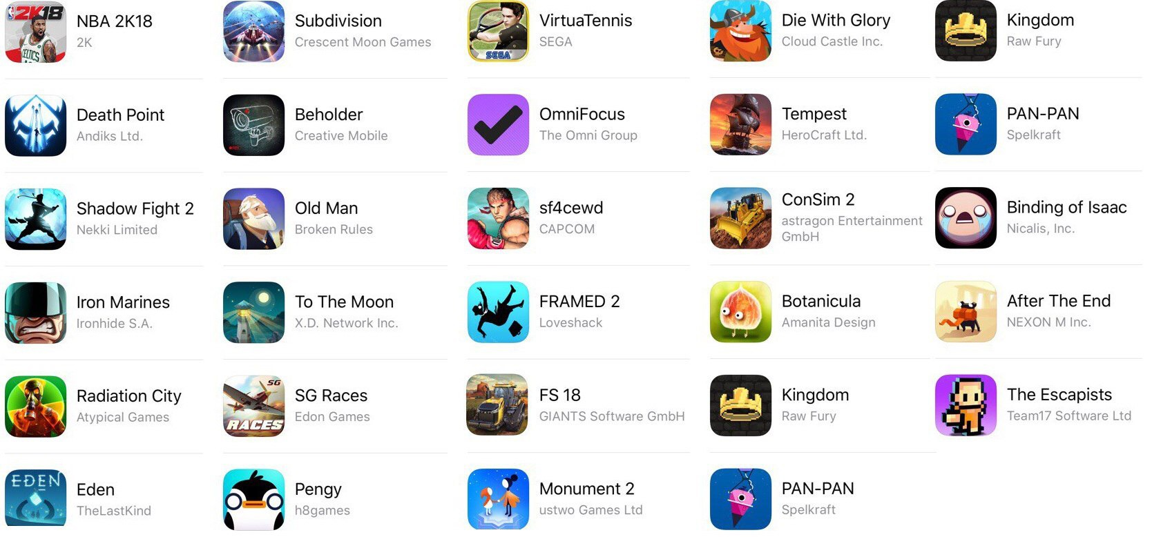 "AppStore Account ""TOP"" iOS 8/9/10/11"