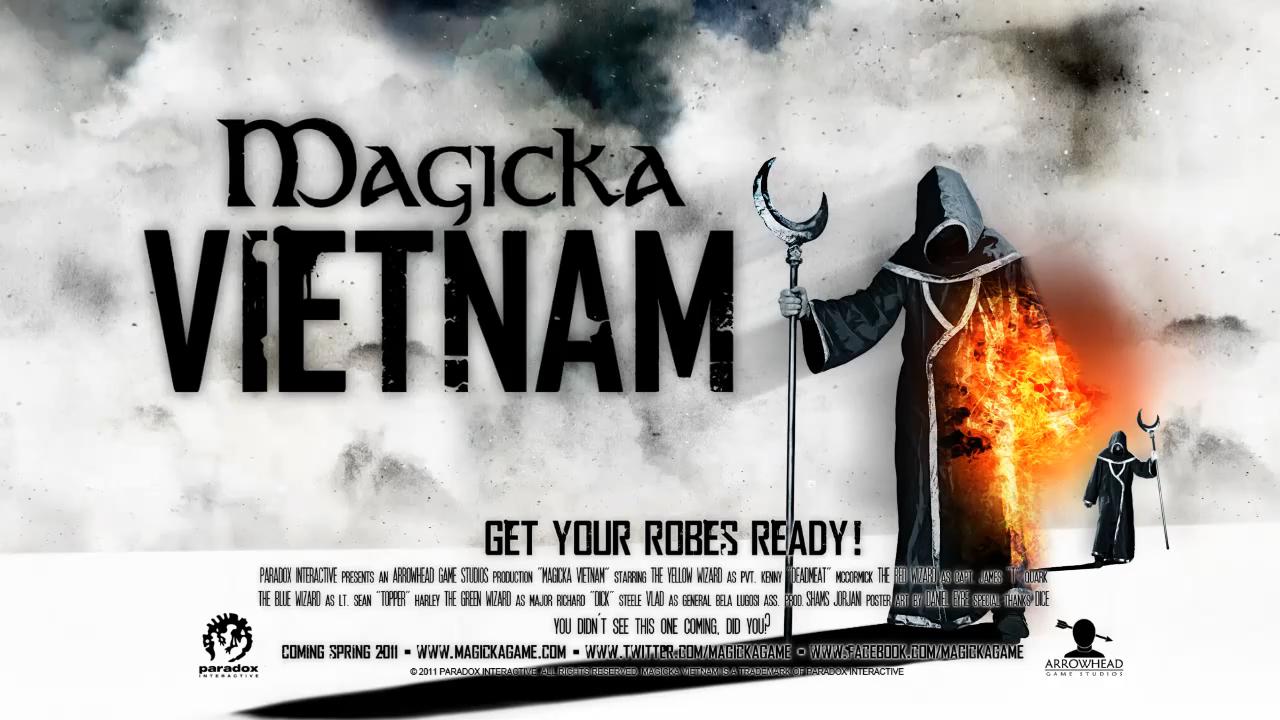 Русификатор для дополнения Vietnam для Magicka.