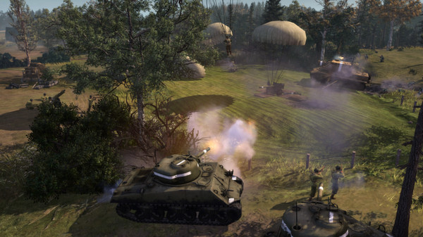 COH 2:  THE WESTERN FRONT ARMIES (Steam)(Region Free)