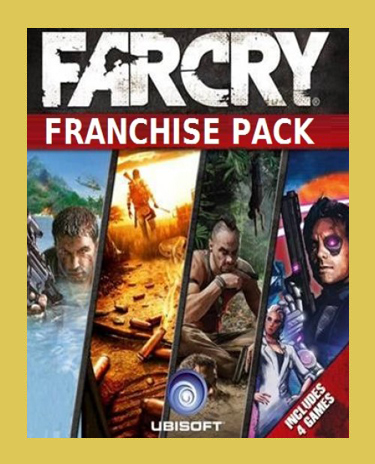 FAR CRY FRANCHISE PACK (4 GAMES )(Steam)(Region Free)