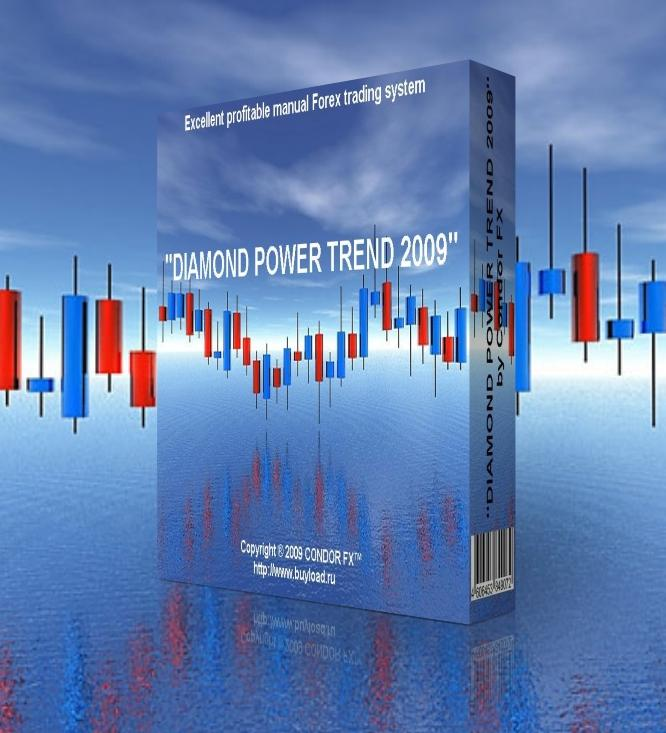 "NEW!ПРОФИТНАЯ Forex-СИСТЕМА ""DIAMOND POWER TREND 2009"""