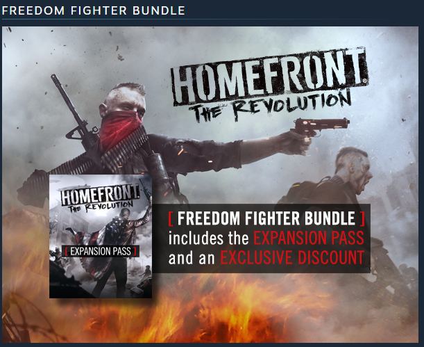 Homefront: The Revolution - Freedom Fighter Bundle GIFT