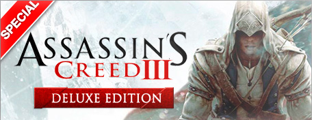 Assassins Creed 3 Deluxe Edition (Steam Gift)