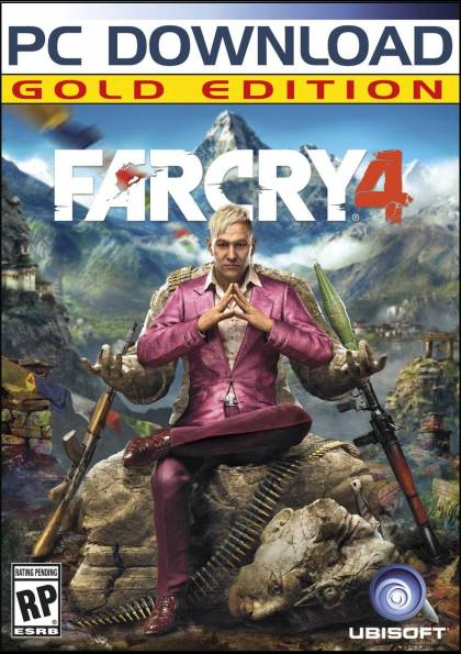 Far Cry 4 Gold (Steam Gift)