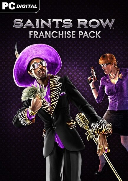 Saints Row Ultimate Franchise Pack (Steam Gift-RU-CIS)
