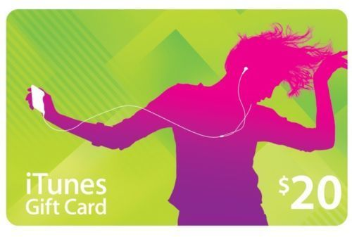 iTunes Gift Card 20$ USA