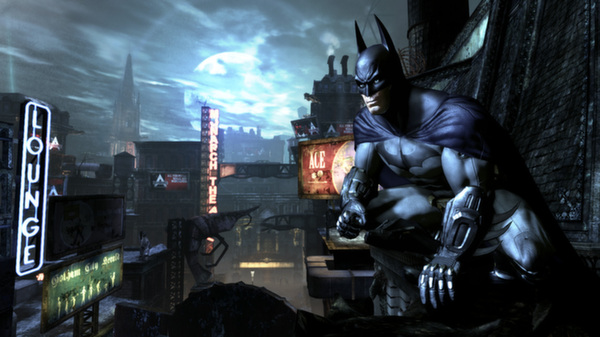 Batman: Arkham City GOTY (Region CIS, steam gift)