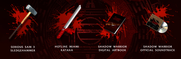Shadow Warrior (Region free, steam gift)