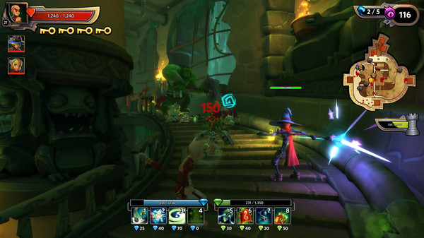 Dungeon Defenders II (Region Free, steam gift)