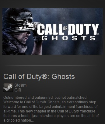 Call of Duty Ghosts PO (Steam Gift Region Free / ROW)
