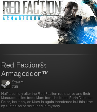 Red Faction: Armageddon | SteamGift RegionFree