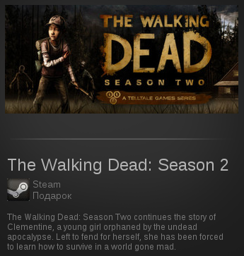The Walking Dead: Season 2 | SteamGift RegionFree