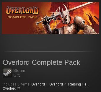 Overlord Complete Pack | SteamGift RegionFree