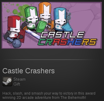 Castle Crashers | SteamGift RegionFree RAW