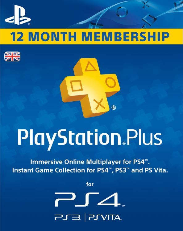 PlayStation Plus PSN / Subscription to 365 (UK) + Gift