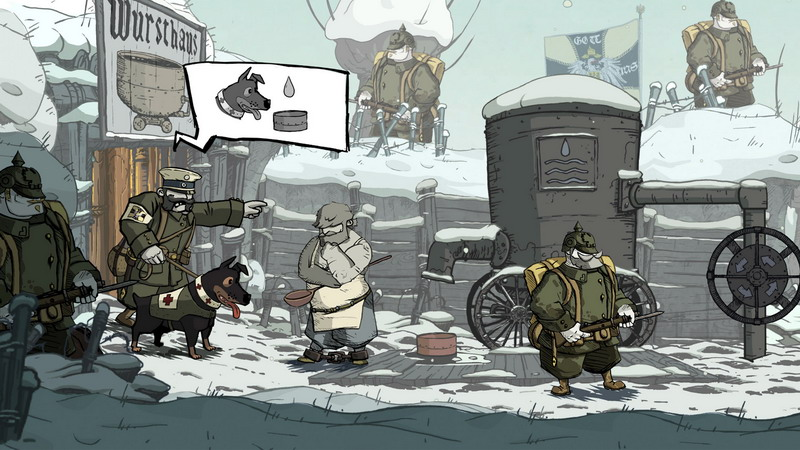 Valiant Hearts: The Great War (Steam gift / RU)