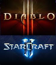 Купить Diablo III+StarCraft II:Wings of Liberty [BATTLE.NET] Battle.net аккаунт с ПОЛНЫМ ДОСТУПОМ + ПОДАРОК + БОНУС + ПРОМО-КОД от продавца Dimikeys