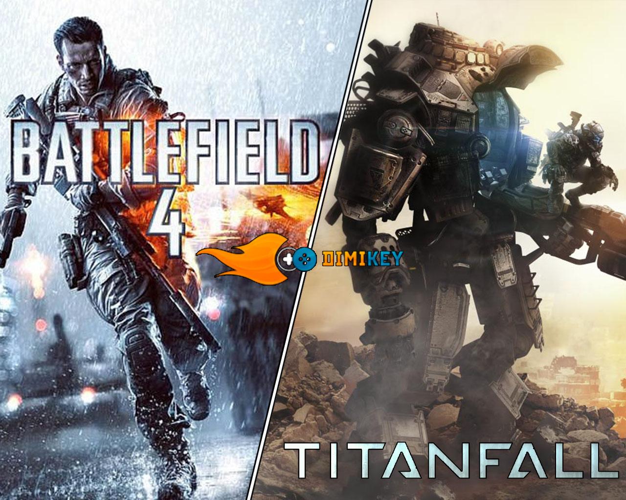 Купить Titanfall + Battlefield 4 + почта [ORIGIN] + подарок