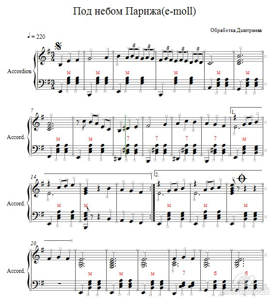 Яндекс скачать ноты для фортепиано на телефон песню