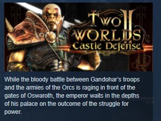 Two Worlds II 2 Castle Defense STEAM KEY REGION FREE