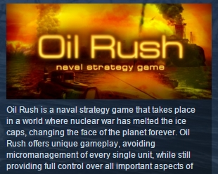 Oil Rush ( Steam Key / Region Free ) GLOBAL ROW