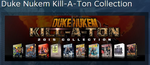 Duke Nukem Kill-A-Ton Collection STEAM KEY REGION FREE