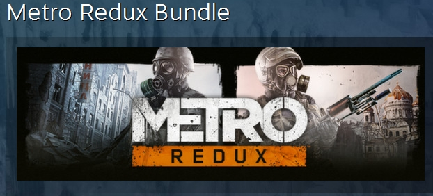 Metro Redux Complete Bundle STEAM KEY СТИМ КЛЮЧ ЛИЦЕНЗ