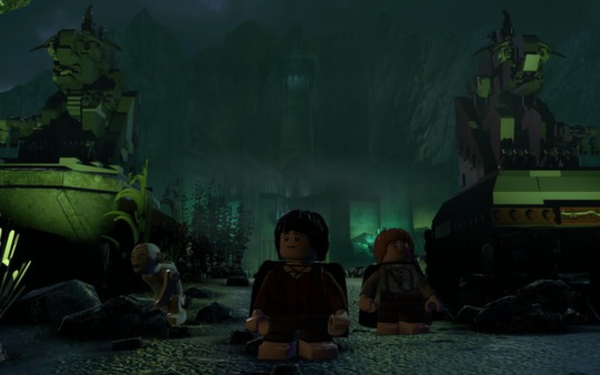 LEGO The Lord of the Rings STEAM KEY RU + CIS LICENSE