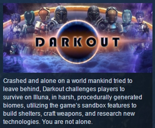 Darkout ( Steam Key / Region Free ) GLOBAL ROW