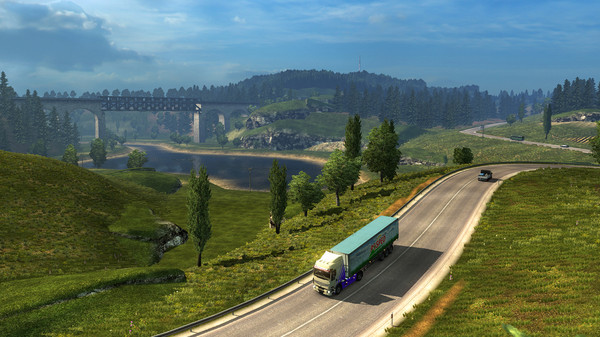 Euro Truck Simulator 2 STEAM GIFT RU +ПОДАРОК