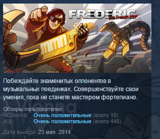 Frederic: Evil Strikes Back STEAM KEY REGION FREE ROW