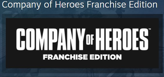 Company of Heroes Franchise Edition STEAM KEY ЛИЦЕНЗИЯ